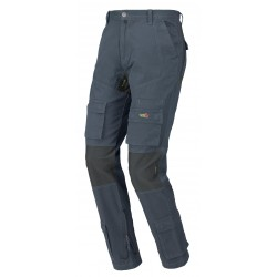 Pantalone da lavoro ISSA LINE Stretch On 8738 BLU