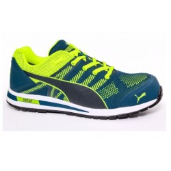 Scarpe antinfortunistiche Puma ELEVATE KNIT GREEN LOW S1P HRO ESD SRC