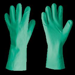 Guanti in nitrile FLEXY GRIP - Verdi Lunghi 33 cm