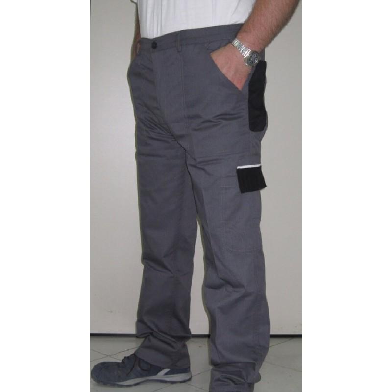Pantaloni da lavoro estivi economici bicolore fia for Materiali da costruzione economici