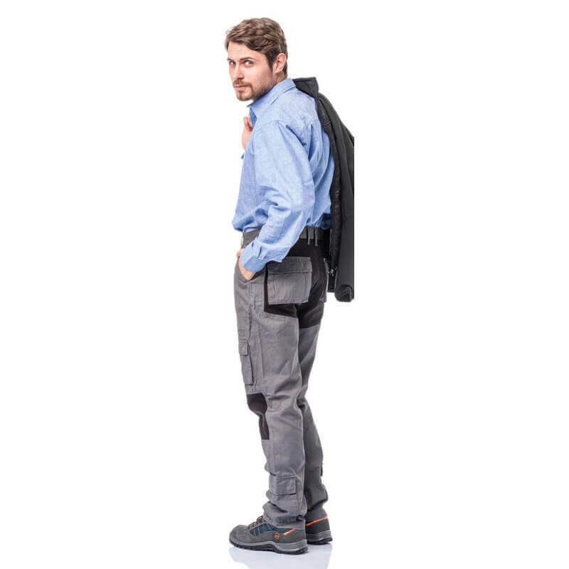 pantaloni da lavoro estivi elasticizzati