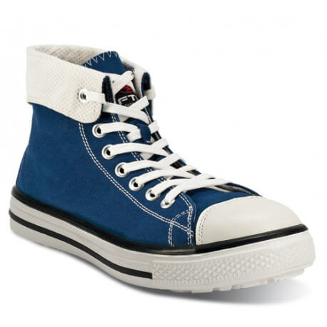 Scarpa antinfortunistica leggera tipo Converse FTG Blues High S1P SRC