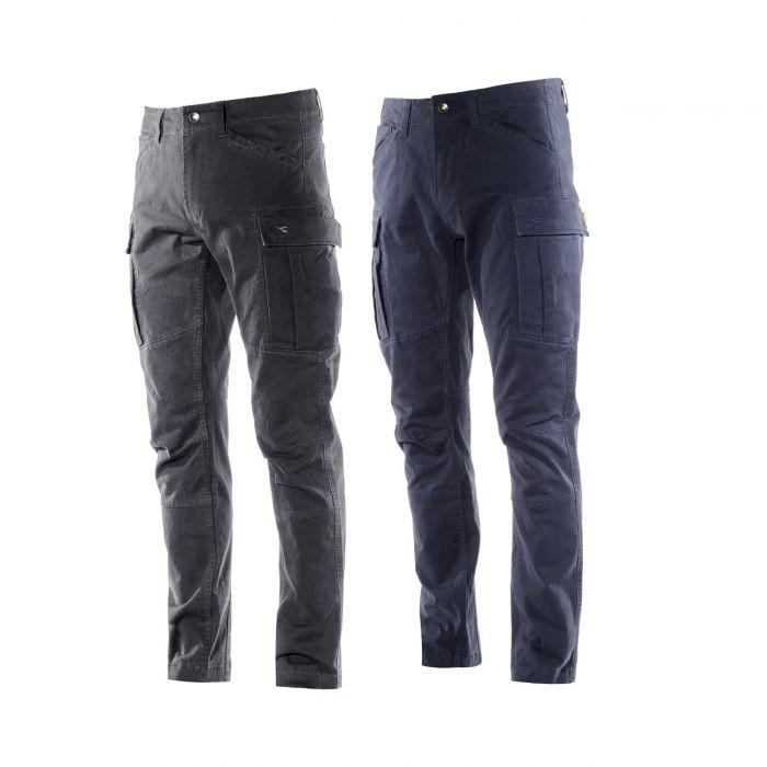 Pantaloni da Lavoro Multitasche Stretch Diadora Cargo Pant New York