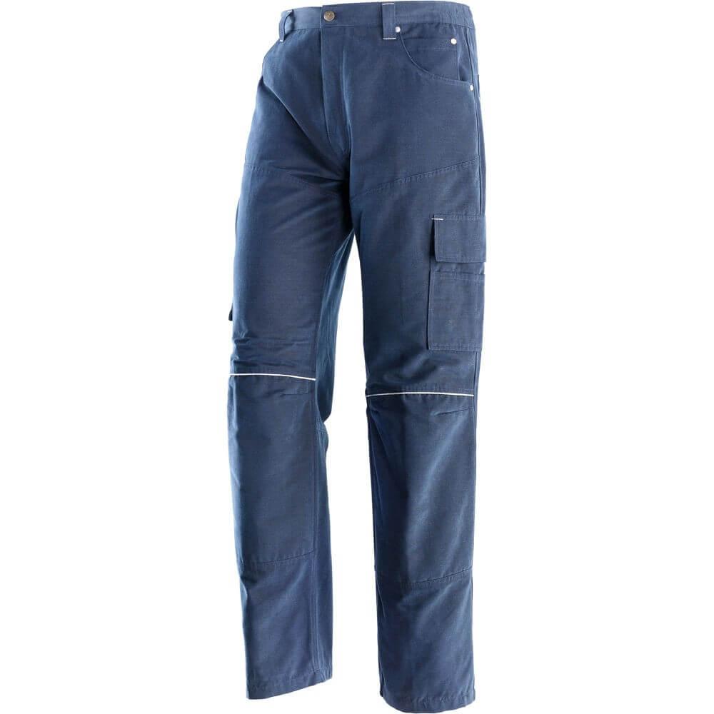 Pantalone 4 Stagioni 100% Cotone New Tools GB Neri
