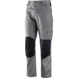 Pantaloni Elasticizzati Multitasche in Cotone EVO STRETCH GB Neri