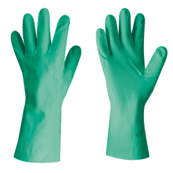 Guanti in nitrile FLEXY GRIP - Verdi Lunghi 33 cm