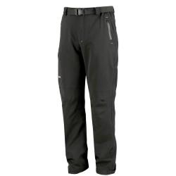 Pantaloni da lavoro in Softshell Invernali Tecnici ISSA LINE Felpati Imbottiti Impermeabili