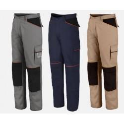 Pantaloni da lavoro Leggeri multitasche 100% cotone ISSA LINE 8930