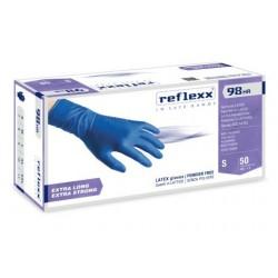 Guanti in lattice High risk senza polvere reflexx 98 HR