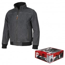 Giubbotto Softshell in Jeans ISSA LINE - 04524B Henry