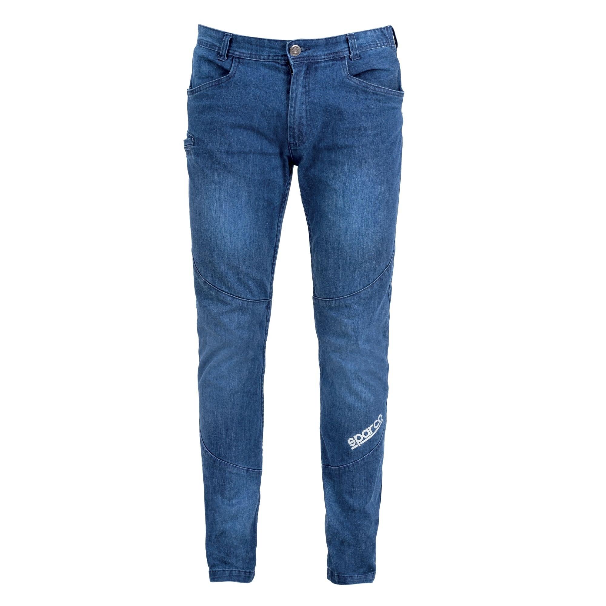 Jeans da lavoro Sparco DENVER Denim Stretch Elasticizzato