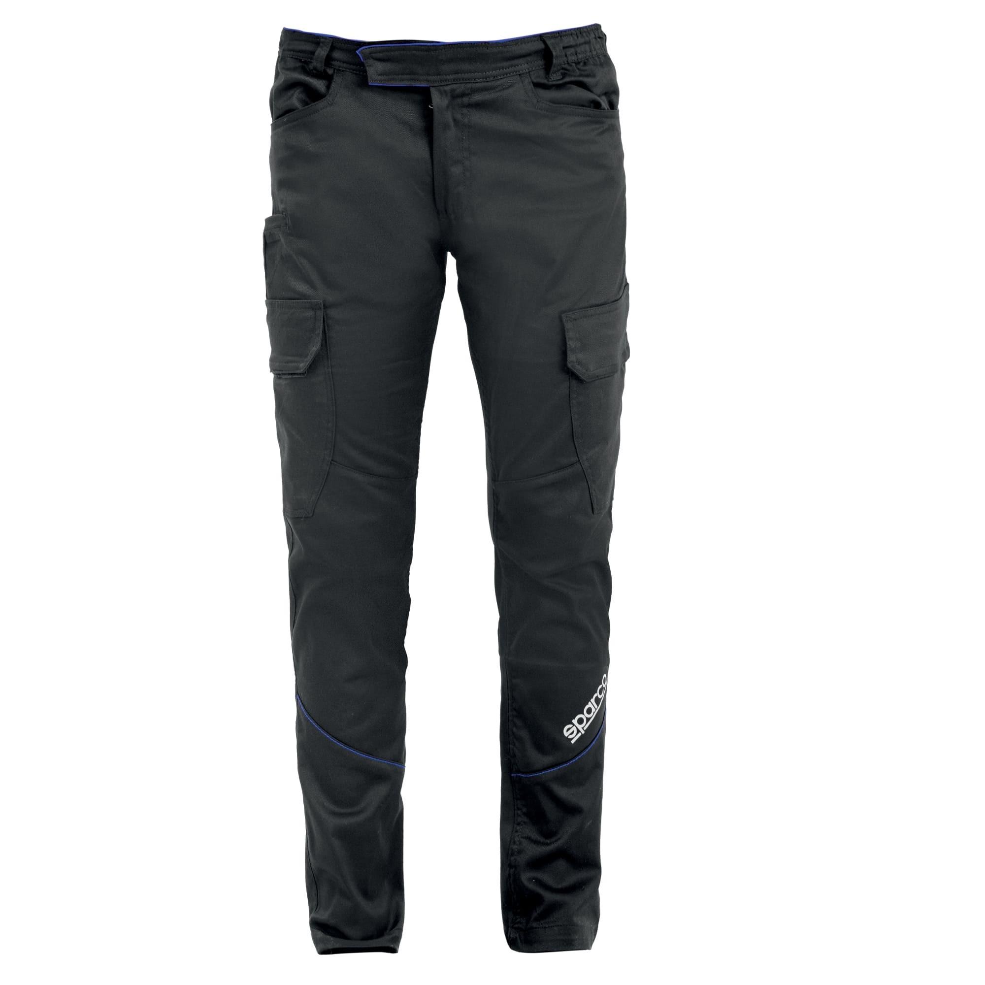 Pantalone da lavoro Sparco BOSTON Cargo Multiseason Elasticizzati Multitasche - Grey