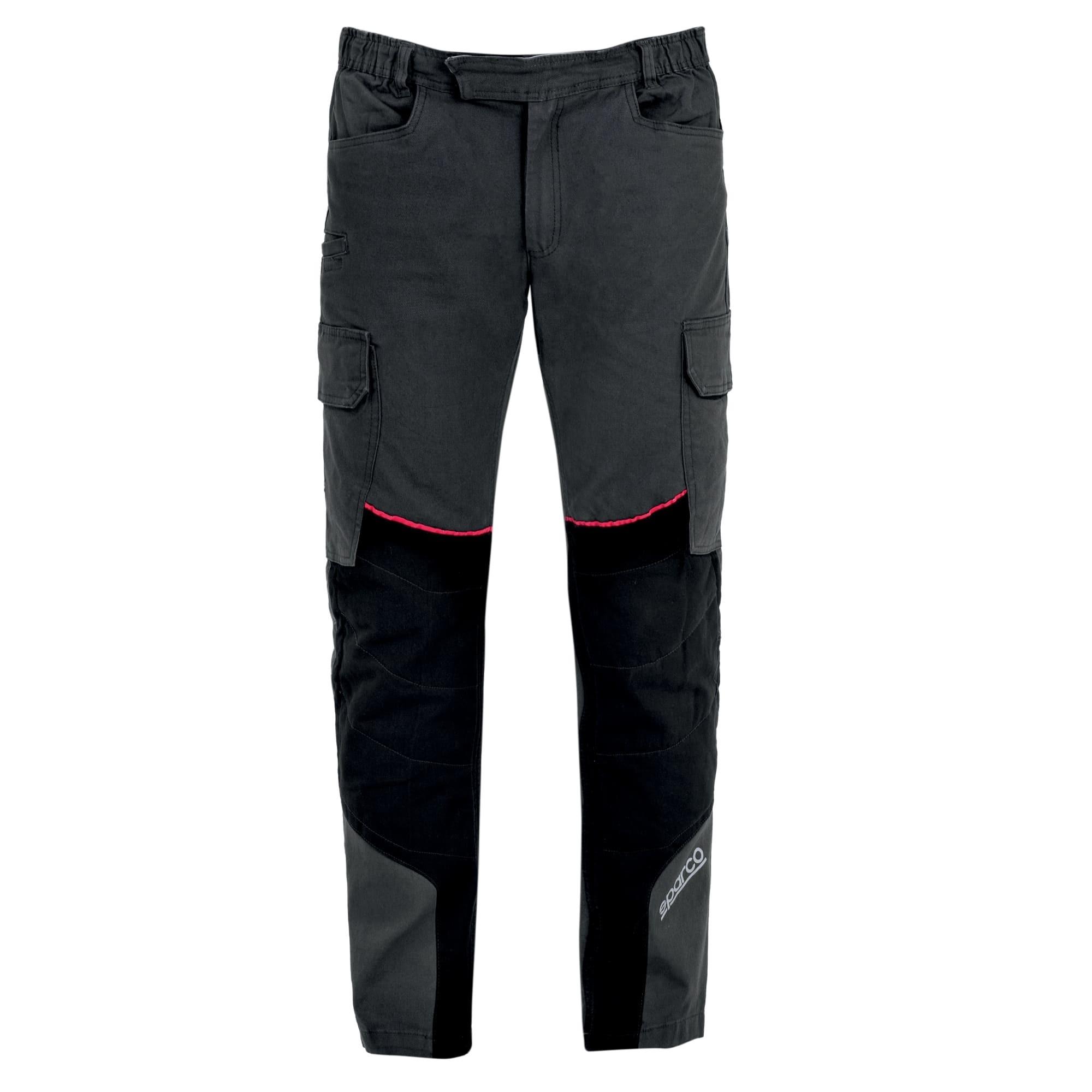 Pantaloni da lavoro Sparco HOUSTON Cargo-Tech Elasticizzati con inserti su ginocchia Multitasche