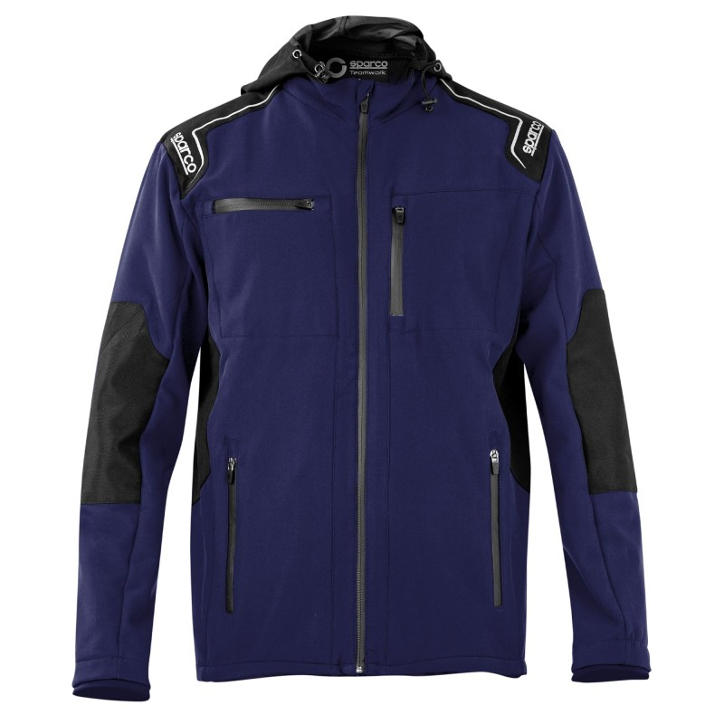 Giacca da lavoro Sparco SEATTLE in Softshell - Blu