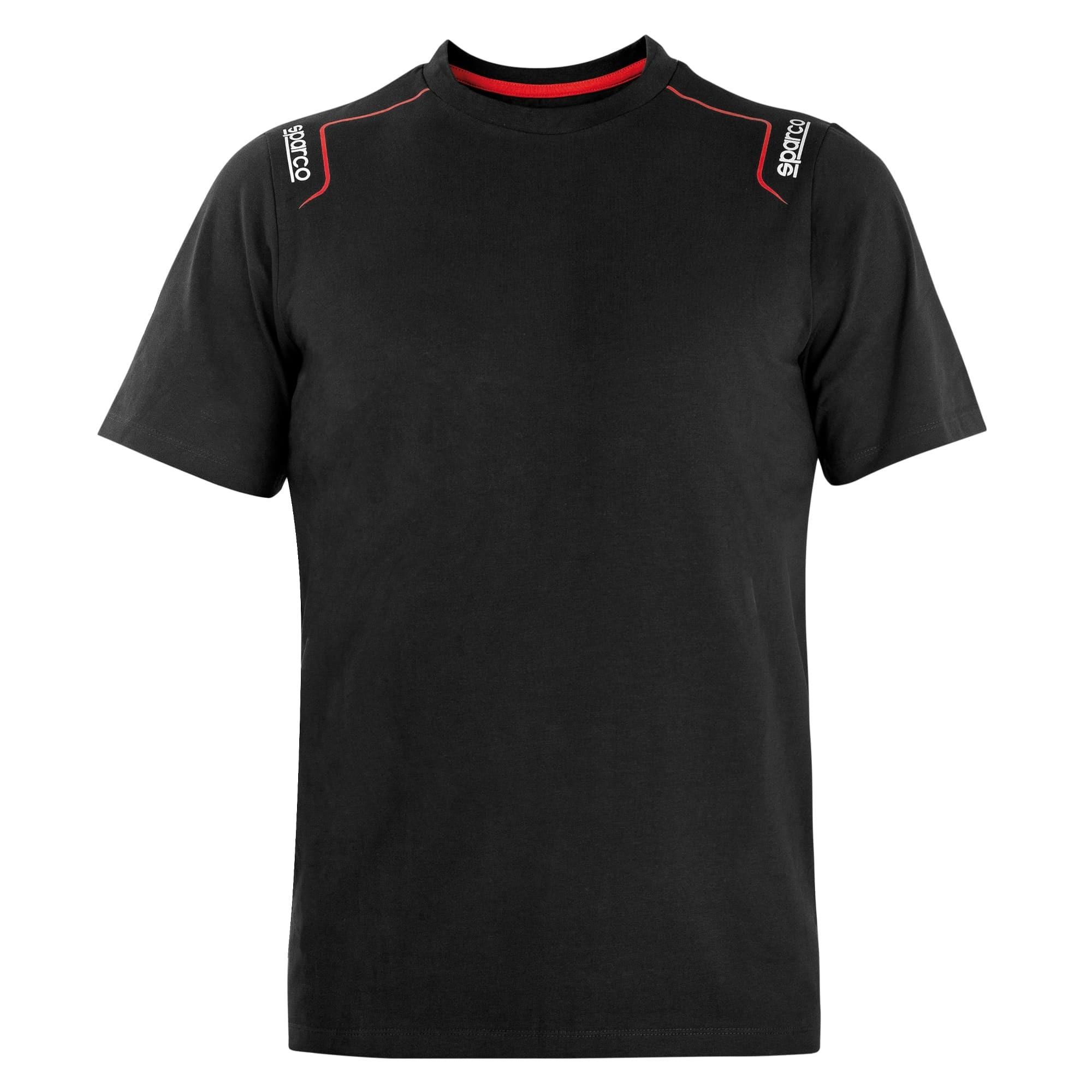 T-shirt Maglietta Elasticizzata TRENTON Sparco in cotone - Blu scuro