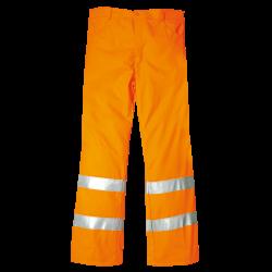 Pantaloni Alta visibilità in Cotone e Poliestere Invernali - Arancioni