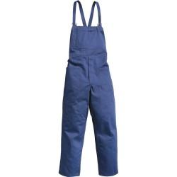Pantalone con pettorina realizzato con tessuto