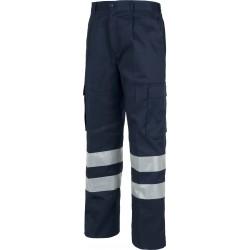 Pantalone da lavoro ad Alta visibilità - Workteam B1407 - BLU