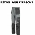 Pantaloni da lavoro multitasche estivi