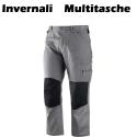Pantaloni da lavoro multitasche invernali