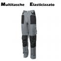 Pantaloni da lavoro Multitasche Elasticizzati
