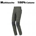 Pantaloni da lavoro Multitasche in Cotone